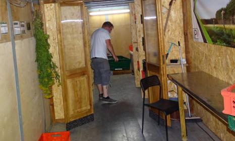 Bild Blick in die IPGartenrampe in der Malzfabrik